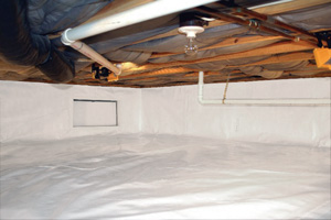 Crawl Space Repair After in Manchester