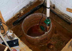 Extreme clogging and rust in a Medford sump pump system