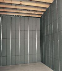 Thermal insulation panels for basement remodeling in Lowell, Massachusetts & New Hampshire