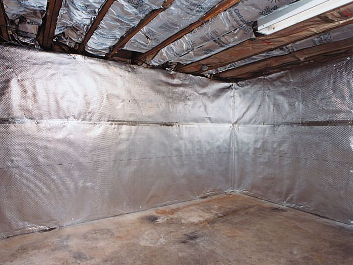 ... An Energy Efficient Radiant Heat And Vapor Barrier For A Andover  Basement Remodeling Project